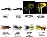 Streamer Assortment - 8 Flies